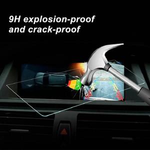 7 polegadas Protector Limpar Film tampa Oleophobic GPS Car Navigator protecção de vidro temperado Screen Display para 18 Camry