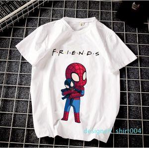 Mens Designer t shirts Friends Summer Harajuku Neutral Short-sleeved t shirt Friends Printed Street Wind T-shirt d04
