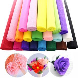 New Kindergarten Rolled Curling Paper Lavoro manuale Materiale Rose Stretch 1 PC Crepe Fiore fai da te Colore multicolore Accessori fatti a mano