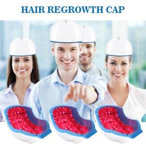 헤어 성장 헬멧을위한 의료 장비 레이저 머리 재성장 치료 적외선 레이저 머리 재성장 캡 치료