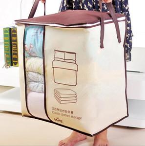 Нетканый портативный одежда постельные принадлежности сумка для хранения организатор складной шкаф для подушки одеяло ящик для хранения всякой всячины бункеры