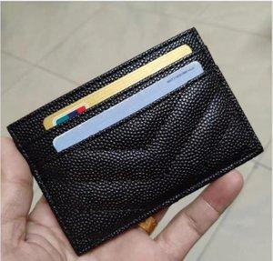 VIP-Geschenk! 2020 klassische Y Art und Weise Kaviar PU-Minibeutel mit Kartenhalter berühmten Halter Mode-Karte Münzenbeutel Luxuxentwerfer Brieftasche Speicher-Beutel