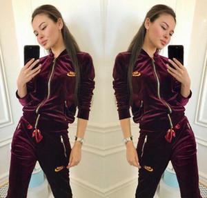 Designered Eşofman kadınlar Luxuryed Ter Suits Sonbahar Markalı Takım Elbise Baskı erkekleri Spor eşofman koşucu Suit Ceket + Pantolon Setleri womens