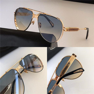 Top men eyewear car fashion designer sunglasses top outdoor uv400 sunglasses square full frame come with case THE DAWN II top quality