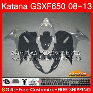 Kit For SUZUKI KATANA GSXF 650 GSX650F black stock 08 09 10 11 12 13 14 18HC.41 GSXF-650 GSXF650 2008 2009 2010 2011 2012 2013 2014 Fairing