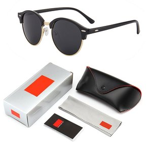 4246 Brand Cолнцезащитные очки металла высокого качества Шарнир Солнцезащитные очки Мужские очки Женские солнцезащитные очки UV400 Unisex с бесплатными случаях и коробки
