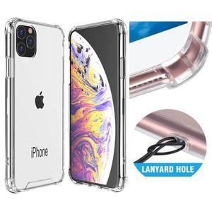 Híbrido transparente TPU Armadura PC Back acrílico para iPhone 11 Pro Max XS XR X 8 7 6 Samsung S9 Além disso S10 S10e Nota 9 10 10 + A7 A9 A750 2018