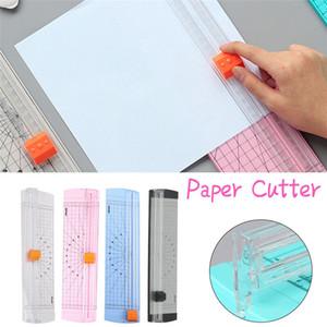 A4 Paper Precision Trimmer righello di taglio della lama Portable Foto Carta blu Cutter