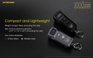 NITECORE TUP MINI Фонарик CREE XP-L HD V6 max 1000 LM Дальность луча 180M Революционный интеллектуальный фонарик EDC USB аккумуляторная