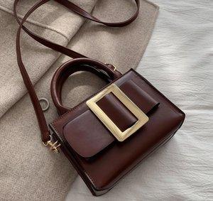 Designer-Mulheres Bolsas alta moda Bolsas de Ombro Feminino Designer Bandoleira Sacos Ladies PU Leather Messenger Bag Mini Contratado Cow / 3