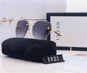 V6marchio di lusso Chanelprogettista Occhiali da sole femminili Occhiali da sole Accessori lente in vetro specchio di alta qualità occhiali da sole NO BOX