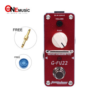 New AROMA AGF-3 G-FUZZ Vintage Germanium Fuzz Effect Mini Analogue Effect True Bypass+Free Connector