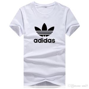 hombre de lujo del diseñador de camisetas Marca camisetas logotipo de oro 3D Imprimir manga corta camiseta Ropa para Hombres Mujeres Desiner camisetas Tees Homme Plus 5XL