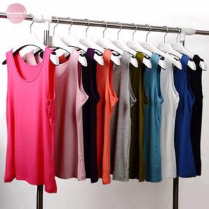 Nouveau été remise en forme Débardeur T-shirt Loose Women T-shirt O Neck Tops Vêtements Slim Plus Taille 6X Polyester
