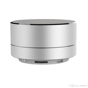 2020- A10 Small Steel Gun Portable Mobile Phone Card Speaker SIM Card Bluetooth Speaker Singing Cellphone