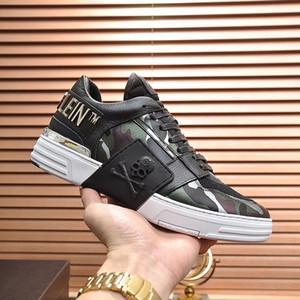 Mode Hommes Chaussures Luxury Design Semelle en caoutchouc Phantom Lo $ Coup de pied-Top Camouflage Lacets Sport Hommes Chaussures Zapatos para hombre Chaussures Hommes Vente