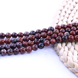 Brecciated يشب الخرزة 15 بوصة حبلا لكل مجموعة لصنع المجوهرات diy فضفاض الخرزة شحن مجاني