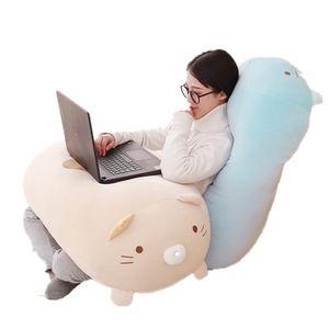 1 stück 28 cm 60 cm 90 cm Große Japanische Animation Sumikko Gurashi Puppe Plüsch Nette Ecke Kreatur Streifen Lange Weiche puppe