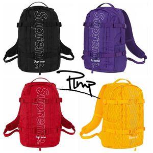 borse all'aperto delle borse di scuola dello zaino di cucitura di alta qualità della borsa dello zaino del progettista dello zaino di marca di modo trasporto libero