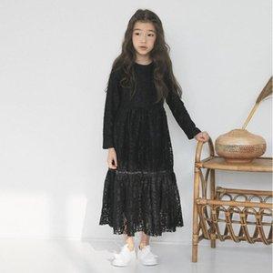YourSeason Baby Girls Принцесса Кружевные Платья 2020 Новая Весенняя Осенняя Одежда Дети Необычные Мать И Дочь Красивое Платье