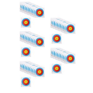 60 Pieces Professional Archery Target Paper For Recurve Bow Longbow 40x40cm