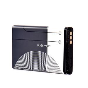 Baterias de substituição Li-ion bateria do telefone BL5C BL5C BL 5C substituição Li-ion de lítio 1020mAh para Nokia 1208 1600 2610 2600 N70