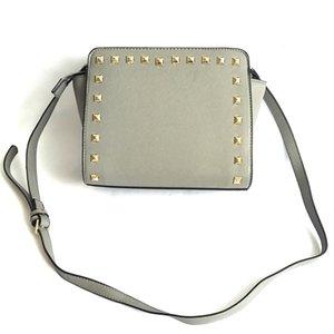 High-End Custom Ladies New Handbag 2020 Designer Shoulder Bag Fashion Street Style Leather Stitching Canvas Large-Capacity Shopping Bag#983