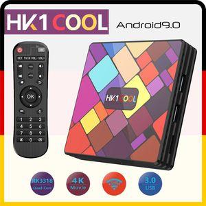 HK1 COOL Smart TV BOX Android 9.0 RK3318 Quad-Core WIFI 2.4G  5G 16G 32G 64G 128G 4K 3D Set-Top Box
