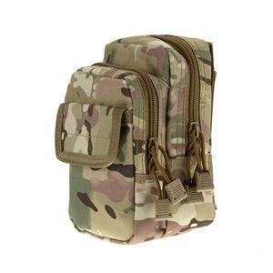 Mens cintura Casual sacos de nylon Unbalance Backpack Crossbody Shoulder Bag Camouflage Peito Bag Multifuncional Leg cinto Bloco de Fanny