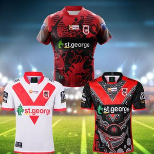 New 2020 ST GEORGE ILLAWARRA DRAGONS NRL Nines Jersey Commemorative Indigenous Rugby Jerseys Shorts NRL Rugby League Jerseys