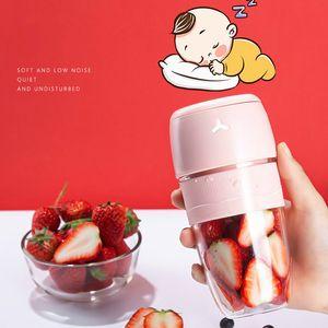 300 ml de licuadora eléctrica portátil de licuadora Mini sorprendente taza de exprimidores para viajes USB recargable batido de frutas mezclador