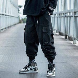 2020 multi tasche cargo Harem Jogger Pantaloni Uomo di Hip Hop Fashion Casual Traccia Pantaloni Streetwear Harajuku Hipster Sweatpants