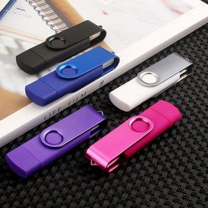 Lecteur Android OTG USB Flash Pen Drive 4gb 8gb 16gb USB 2.0 32 Go 64 Go Pendrive Flash Drive Micro Clé USB