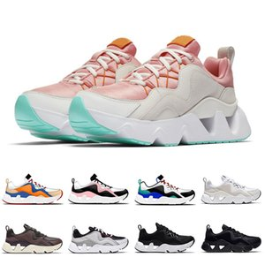 2020 New Lightweight RYZ 365 Fashion Women Soft Running Shoes ALL Black White Pink Orange Outdoors Trainers Runners Mens Sports Sneakers