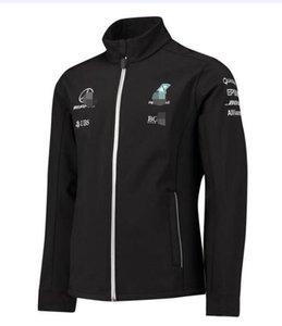 Новая команда AMG Formula One F1 team / soft shell jacket fan version of motorcycle riding racing suits теплые свитера ветрозащитные и теплые