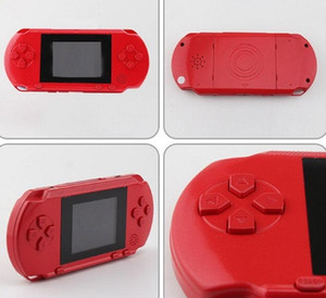 Nuova console di gioco portatile PXP3 Videocamera portatile classica a 16 bit Console da gioco a 2,7 pollici Pocket Gaming Player 5 Color Kids Game Player