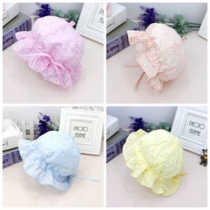 Floral Baby Girl Hat for Girls Sun Hat Ruffle Toddler Bucket Denim Floral Kids Sun Protection New Fashion