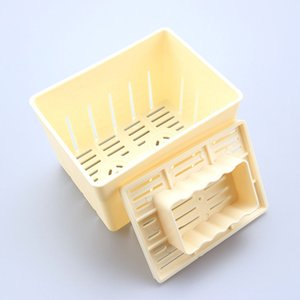 New Tofu Press-Maker Mold DIY Plastic Mould Homemade Soybean Curd without Cheese Cloth Cooking Tool Kitchen Accessories