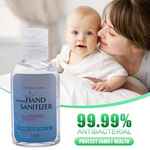 55ml Hand Sanitizer Anti-Bacteria Moisturizing Liquid Disposable No Clean Waterless Antibacterial Hand Gel 99.99% Kills Bacteria