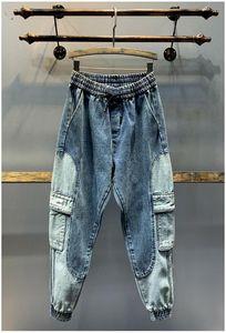 AH0262 Fashion Men's Jeans 2020 Runway Luxury European Design party style Men's Clothing