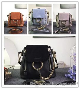 2018 couro novo cheio Mulheres Moda Couro Mochila 100% couro verdadeira Alta Qualidade Original Bag