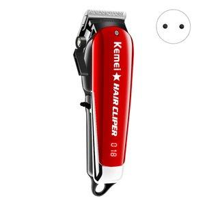 Kemei KM-2611 Profesyonel Saç Kesme Şarjlı Saç Kesici pil saç düzeltici LCD Ekran Sakal Giyotin