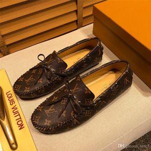 20FW Klassische beiläufige Schuh-MAN-echtes Leder-Slip-On Loafer-Licht-freies Verschiffen-Freizeit-Schuhe Mann-Qualität für erwachsene Mann-Schuh MADAC