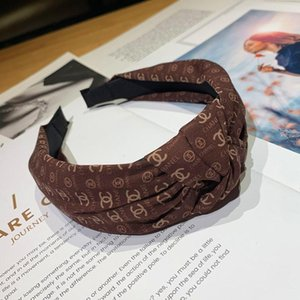 DHL Top Fashion Women Headbands High Grade Letter Hair Bands Coloful Head Scarf Hair Jewelry for Gift Mix Styles