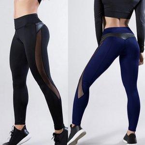 LOOZYKIT 2019 Women Sexy Yoga Pants Seamless Fitness Leggings Sports Running Gym Leggings High Waist Push Up Slim Bottoms Female T200601