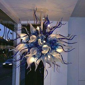 Pendentif Lampes Lumières Chambre Lumières Accueil Decor Tiffany LED Pendentif-Light-Light Edison Lampe CE / UL 100% Boulet Borosilicate Murano Glass Art Lustre