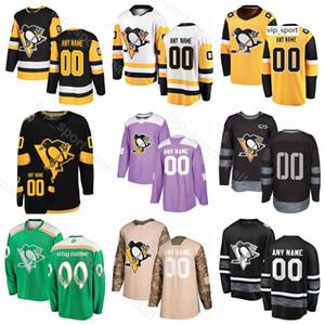 Benutzerdefinierte Pittsburgh Penguins Hockey Matt Cullen Trikot Marcus Pettersson Derick Brassard Gerber Pearson Jack Johnson Winter Classic