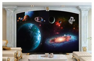 Papel de parede пользовательские 3D фото фрески обои космический Звездный Галактика гостиная телевизор фон стены декоративные наклейки на стены