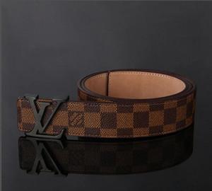 Fashion Big Schnalle echten Ledergürtel mit Box-Designer Gürtel Männer Frauen hochwertige neue Herren Gürtel Vergleichen mit ähnlichen Artikel Fashion B