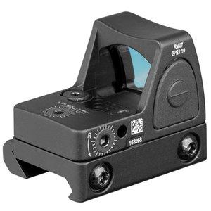 2019 الجديدة Trijicon RMR قابل للتعديل نمط G17 ريد دوت نطاق البصر مع حماية الغلاف المطاط للحصول على الصيد